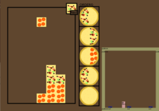 [Work In Progress] Drop down puzzle game controlled with platforming elements