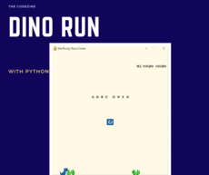 Building a Coloured Dino Game Using Pygame