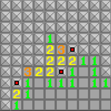 Sorry, I was new on pygame.org, so I've accidently shared a couple of minesweepers