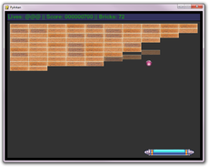 Simple Python Arkanoid like game.