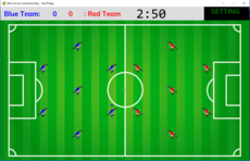 mini soccer championship - simpple soccer 2D simulation game