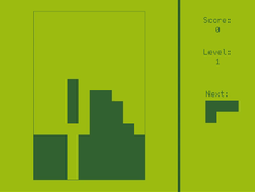 A simple implementation of a Tetris.