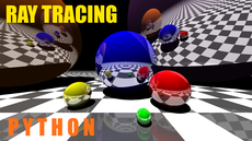 Ray tracing no OpenGL, only using CPU