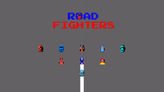A fast side-scrolling racing game.