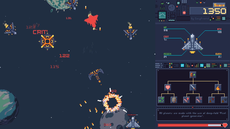 A 2d pixel art shoot-em-up with a skill tree