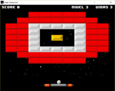 A simple Arkanoid made with pygame