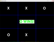 A dirty-coded TicTacToe game using pygame