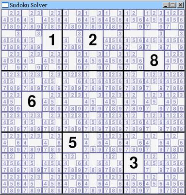 sudoku solver 1 0