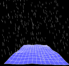A 3D wave generator made with pygame and noise.py.