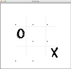 "My tictactoe game made in Python using the library ""Turtle"""