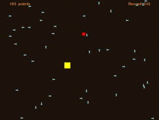 A fun and challenging mouse game where you must dodge bullets.