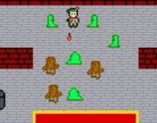 Swords and crossbows is a gauntlet style game writen for the 72 hour 2006 gamedev contest. (http://www.pixel-arts.org/72/)
