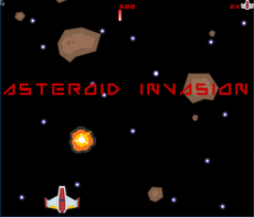 a asteroid shooter