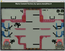 A fork of the Game and Watch Mario Cement Factory