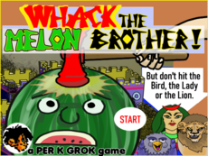 Arcade Whack the Mole type of game
