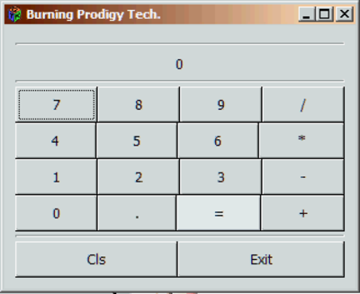 Prodigy Calculator - 1 0