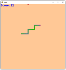 My version of the classic Snake game made in PyGame