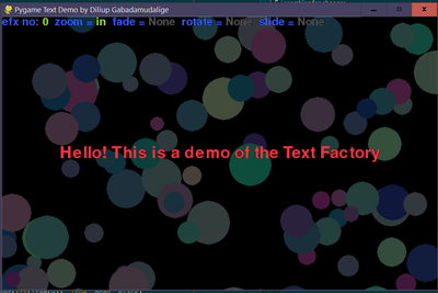 Text Factory