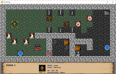 RPG Tactical Fantasy game, turn-based and in 2D.