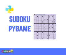 Suduko traditional game based on pygame
