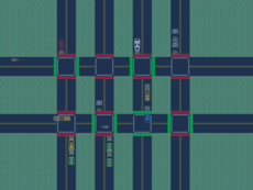 A game about managing Traffic in a city.