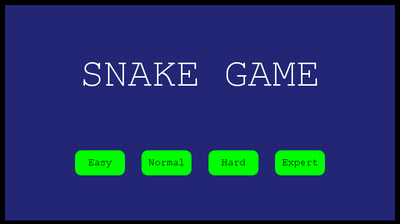 Snake Game for python 3 6