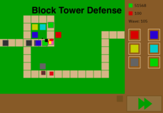 Tower defense game still in the Alpha stages
