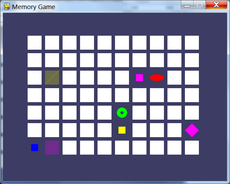 "A simple memory puzzle game, featured in ""Making Games with Python & Pygame"""