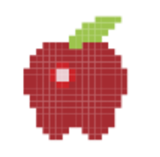 Click on the fruit that appears at random points. If you miss, game is over.