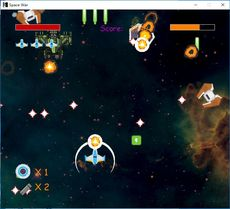 Space War game.