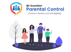 Bit Guardian Parental Control is designed to secure kids and balance their digital lives.