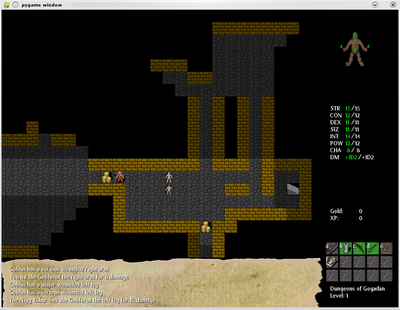 Python Dungeon Crawler