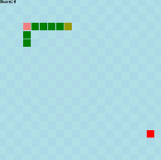 Another snake game made for learning purpose