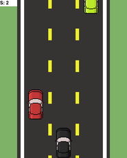 A simple car game