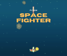 Creating a Space Fighter game using Python & Pygame
