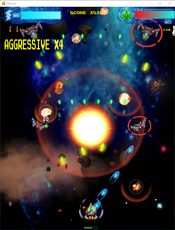 Cobra is a 2D space game with vertical scrolling (also called shmups), written exclusively in python 3.6 and playable with PS3 controller and keyboard.