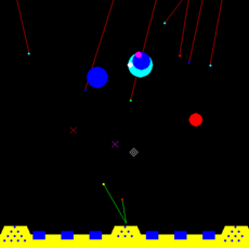 Missile Command game